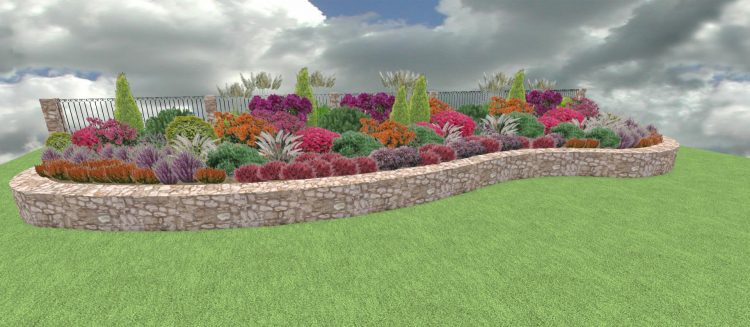 RW5 Rabata wrzosy i rododendrony